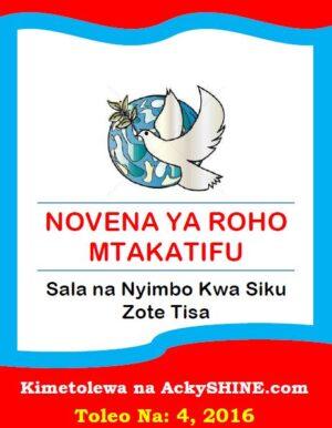 Novena ya Roho Mtakatifu
