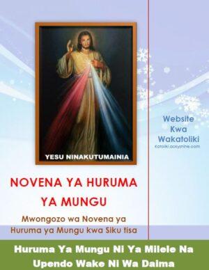 Novena ya Huruma ya Mungu