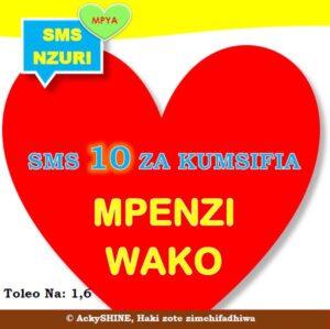 Kitabu cha SMS 10 Nzuri za Kumsifia Mpenzi wako Ajione wa Kipekee